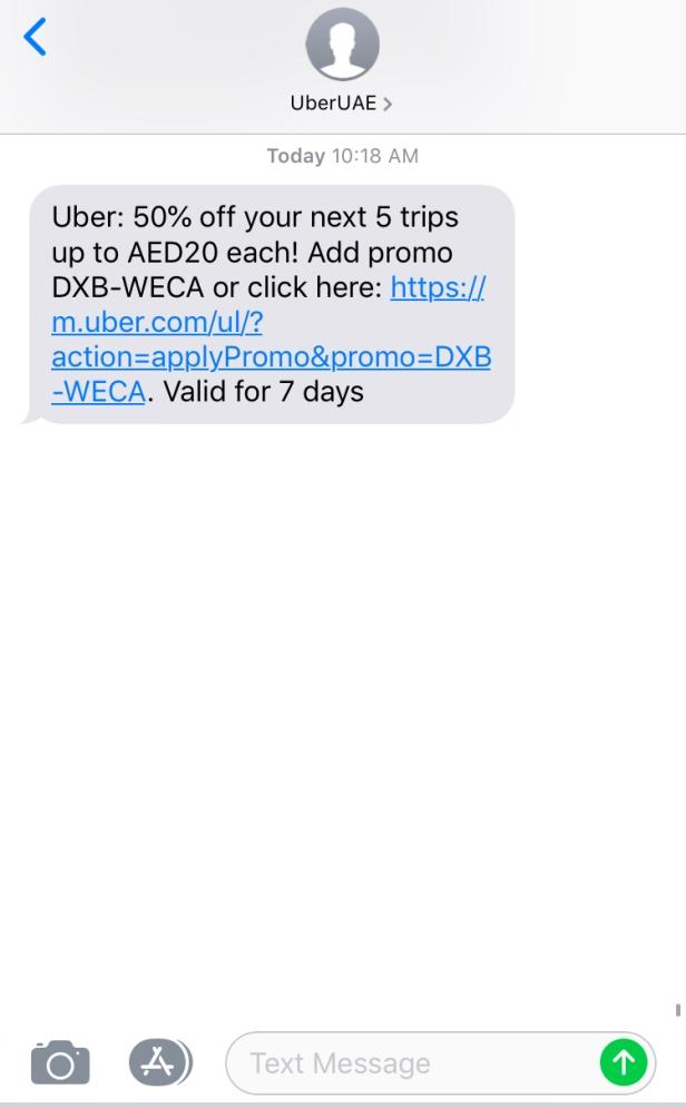 uber promo codes
