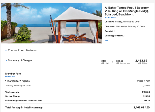 ritz carlton al hamra beach ras al khaimah uae marriott bonvoy price